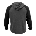 Thumbnail of GASP l/s thermal hoodie - Graphite Melange