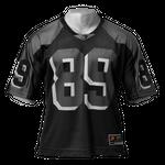 Thumbnail of GASP Football tee 3 - Black/Grey