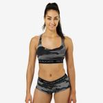 Thumbnail of Better Bodies Athlete Short Top - Grey Camoprint
