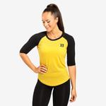 Thumbnail of Better Bodies Womens Baseball Tee - Yellow