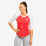 Thumbnail of Better Bodies Womens Baseball Tee - Raspberry