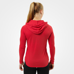 Thumbnail of Better Bodies Varsity Hoodie - Tomato Red
