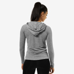Thumbnail of Better Bodies Varsity Hoodie - Grey Melange