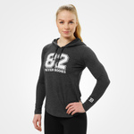 Thumbnail of Better Bodies Varsity Hoodie - Graphite Melange