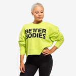 Thumbnail of Better Bodies Chelsea Sweater - Neon Yellow