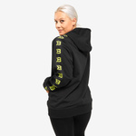 Thumbnail of Better Bodies Trinity Hood - Black/Neon