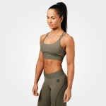 Thumbnail of Better Bodies Astoria Sports Bra - Washed Green