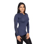 Thumbnail of Better Bodies Performance Long Sleeve Hood - Dark Navy