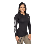 Thumbnail of Better Bodies Performance Long Sleeve Hood - Black