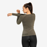 Thumbnail of Better Bodies Nolita Seamless Long Sleeve - Washed Green