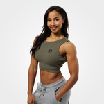 Thumbnail of Better Bodies Astoria Laced Tank - Washed Green