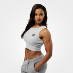 Thumbnail of Better Bodies Astoria Laced Tank - Frost Grey