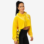 Thumbnail of Better Bodies Chrystie Crop Hoodie - Yellow
