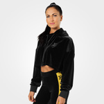 Thumbnail of Better Bodies Chrystie Crop Hoodie - Black