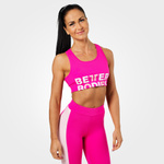 Thumbnail of Better Bodies Bowery Sports Bra - Hot Pink