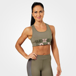 Thumbnail of Better Bodies Bowery Sports Bra - Washed Green
