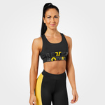 Thumbnail of Better Bodies Bowery Sports Bra - Black/Yellow