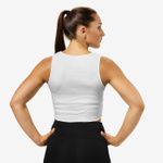 Thumbnail of Better Bodies Team BB Rib Tank - White