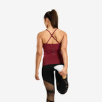 Thumbnail of Better Bodies Waverly Strap Top - Sangria Red