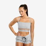 Thumbnail of Better Bodies Waverly Mesh Bra - Frost Grey