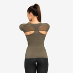 Thumbnail of Better Bodies Highbridge Mesh Long Sleeve - Washed Green