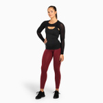 Thumbnail of Better Bodies Highbridge Mesh Long Sleeve - Black