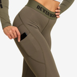 Thumbnail of Better Bodies Highbridge Leggings - Washed Green