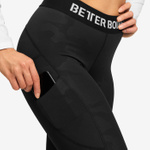 Thumbnail of Better Bodies Highbridge Leggings - Black Camo