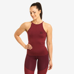 Thumbnail of Better Bodies Sugar Hill Halter - Sangria Red