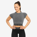 Thumbnail of Better Bodies Sugar Hill Tee - Graphite Melange