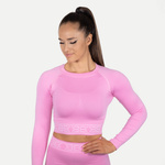 Thumbnail of Better Bodies Rib Seamless Long Sleeve - Bubblegum Pink