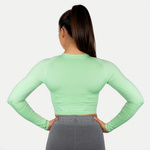 Thumbnail of Better Bodies Rib Seamless Long Sleeve - Mint Green