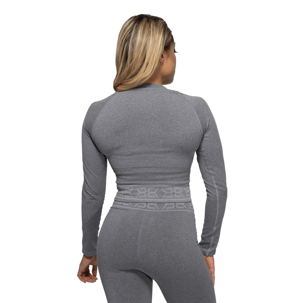 Gallery image of Rib Seamless Long Sleeve