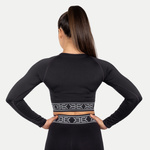 Thumbnail of Better Bodies Rib Seamless Long Sleeve - Black