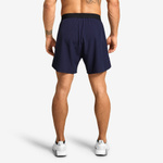 Thumbnail of Better Bodies Essex Stripe Shorts - Dark Navy