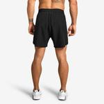Thumbnail of Better Bodies Essex Stripe Shorts - Black